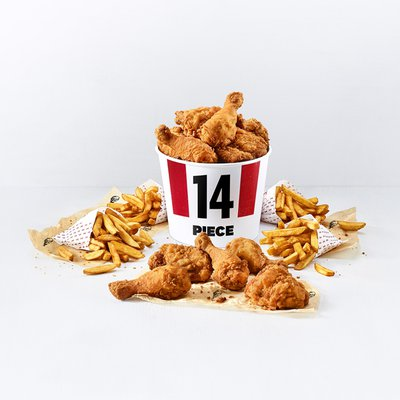 14 Piece Bargain Bucket