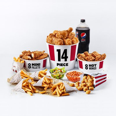 14 Piece Party Bucket