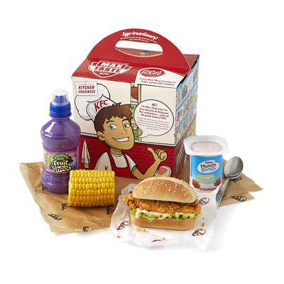 Kids Mini Burger Meal