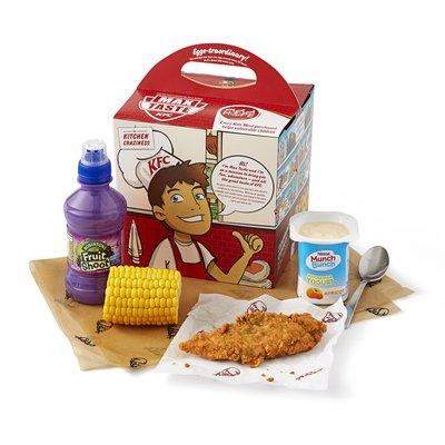 Kids mini fillet meal