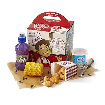 kids popcorn chicken meal