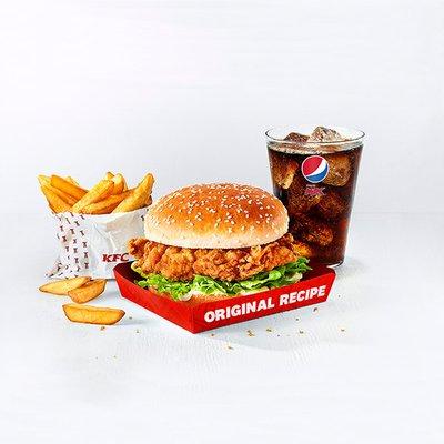 Fillet Burger Meal