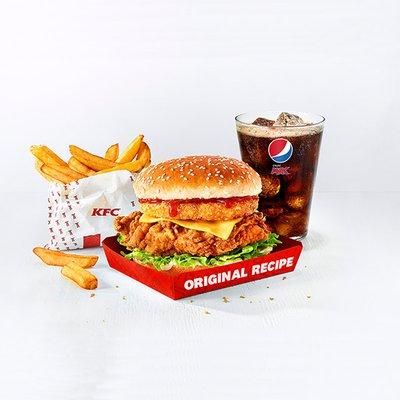 Fillet Tower Burger Meal