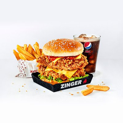Zinger® Stacker Meal