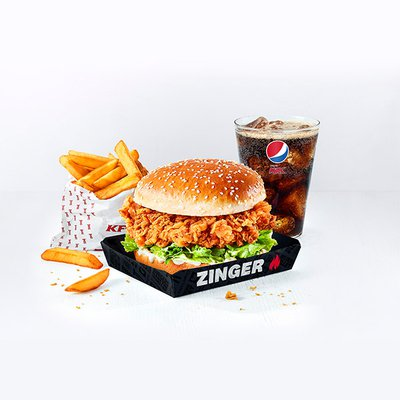 Zinger® Burger Meal