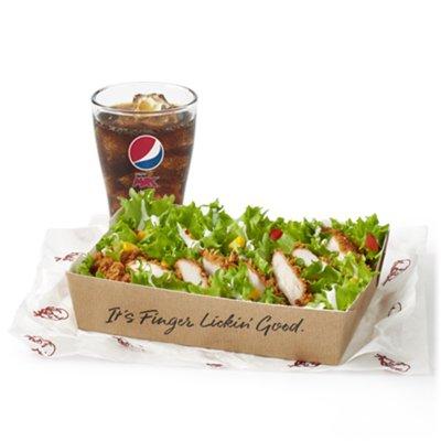 Fillet Salad & Drink