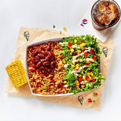 Veggie Ricebox & Drink